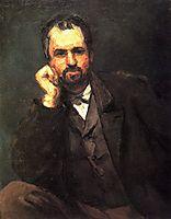 Portrait of a Man, c.1866, cezanne