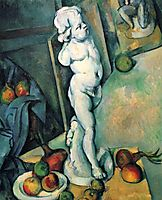 Still Life with Cherub, 1895, cezanne
