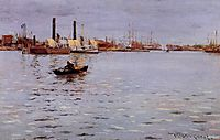 The East River, 1886, chase