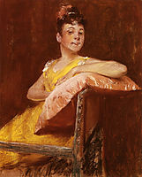 A Girl in Yellow (aka The Yellow Gown), 1900, chase
