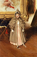 My Little Daughter Dorothy, 1894, chase