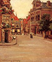 The Red Roofs of Haarlem, 1903, chase