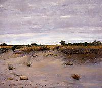 Wind Swept Sands, Shinnecock, Long Island, 1894, chase