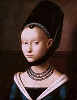 Portrait of a Young Girl, c.1470, christus