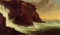Frenchman-s Bay, Mt. Desert Island, 1844, cole