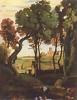 Castel Gandolfo, c.1826, corot