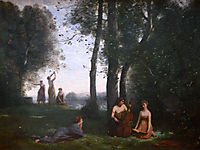 Country concert, 1857, corot