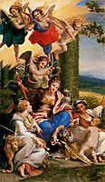 Allegory of the Virtues, c.1530, correggio