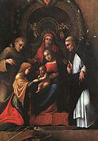 The Mystic Marriage of St. Catherine, 1515, correggio