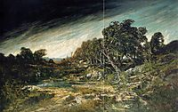 The Approaching Storm, c.1855, courbet