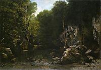 Solitude, 1866, courbet