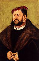 Elector John the Constant of Saxony, 1526, cranach