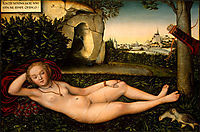 The Nymph of the Spring, c.1540, cranach
