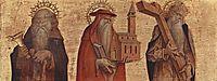 Saint Anthony, Saint Jerome, Saint Andrew, 1482, crivelli