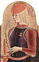 Saint George, 1473, crivelli