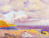 An Incoming Storm, 1908, cross