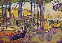 The Evening Air, 1894, cross