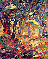 Study for The Clearing, 1906, cross
