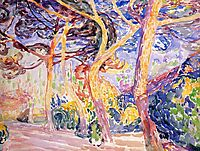 Under the Pines, c.1907, cross