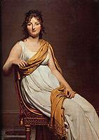 Portrait of Henriette de Verninac, 1799, david