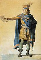 The Representative of the People on Duty, 1794, david