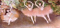 Ballet Scene, c.1879, degas