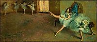 Before the Ballet (detail), 1892, degas