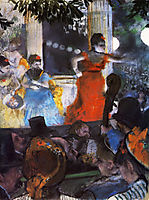 Cafe Concert - At Les Ambassadeurs, 1877, degas