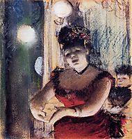 Cafe-Concert Singer, 1878, degas