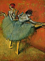 Dancers at the Barre, c.1905, degas