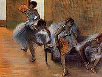 In the Dance Studio, c.1897, degas