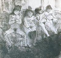 Make an attempt, second version, 1877, degas