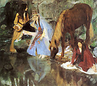 Mlle Fiocre in the Ballet , 1868, degas