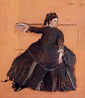 Woman on a Sofa, 1875, degas