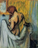 Woman with a Towel , 1898, degas