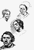 Page of a sketchbook, 18, delacroix