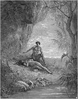 Adam and Eve, c.1868, dore
