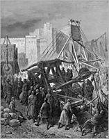 The Crusaders- War Machinery, 1877, dore