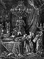 Her Friends Were Eager To See The Splendors Of Her House, dore