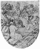 Assumption and Coronation of the Virgin, durer