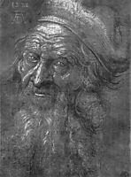 Head of an old man, durer