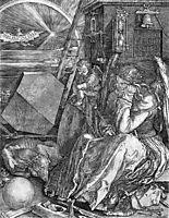 Melancholia, 1514, durer