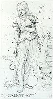 Muse Calliope, 1494, durer
