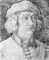 Portrait of a Man (Konrad Peutinger) , durer
