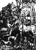 Saint Eustach, 1500-1502, durer