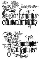 Title page to the edition of 1498, 1498, durer