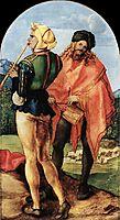 Two Musicians, 1504, durer