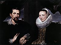 Double Portrait of the Painter Frans Snyders and his Wife, c.1621, dyck