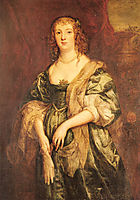 Portrait of Anne Carr, Countess of Bedford, 1615-1684, 16, dyck