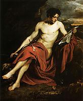 Saint John the Baptist in the Wilderness, 16, dyck